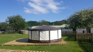 Yurts at Park Rose